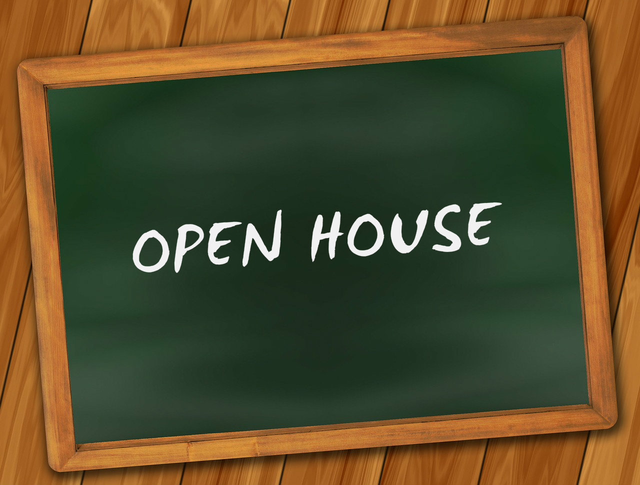 Open house with rewards available whcs news events for Open home