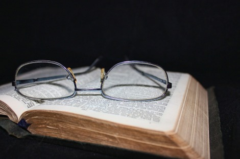 Prayer Group (Bible with glasses)