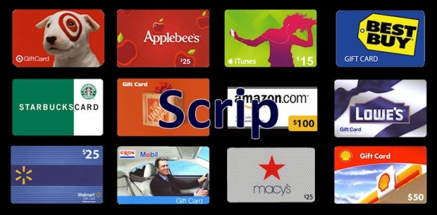 SCRIP Gift Card Image